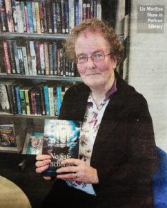 Liz MacRae Shaw at the 2017 Skye Book Festival