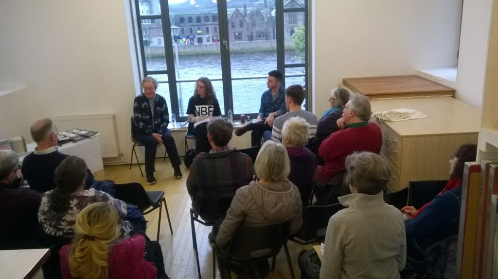 Talk at Ness Book Fest