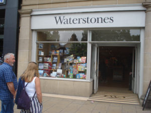 Waterstones EDINBURGH en route to Penzance