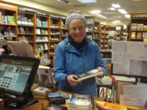 Liz Macrae Shaw - Oban book signing